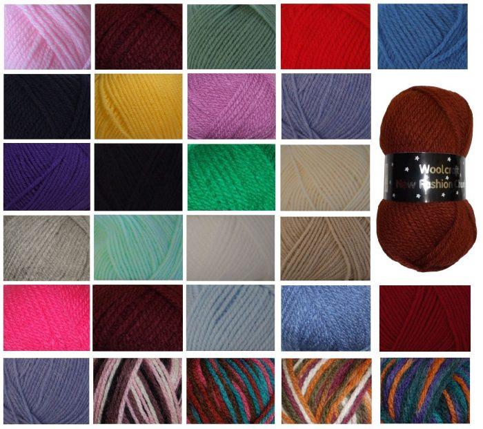 Woolcraft SHETLAND TWEED CHUNKY Knitting Wool BENMORE Yarn 100g